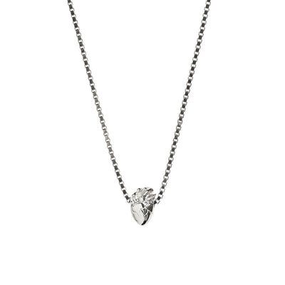 I Carry Your Heart Necklace | Silver