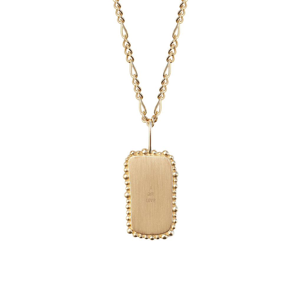 I Am Love Pendant | Solid Gold