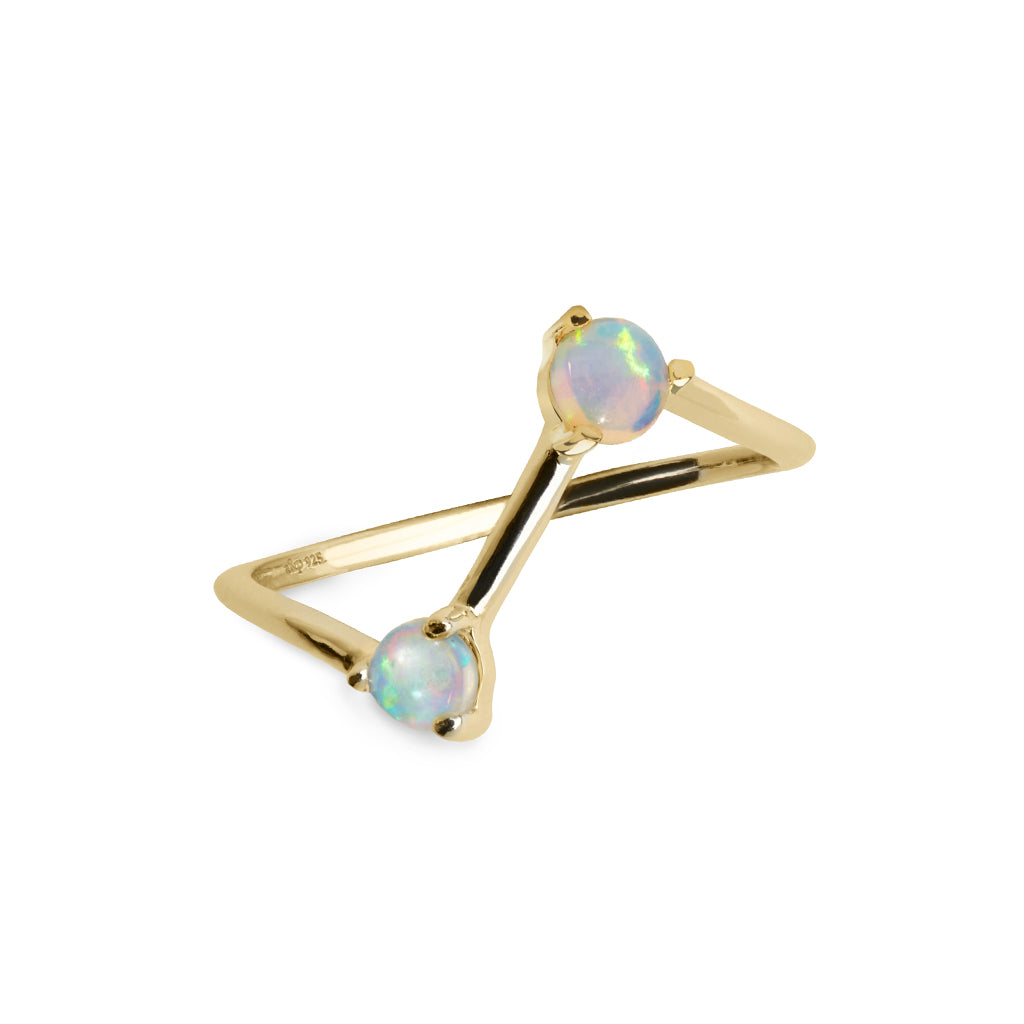 Kaleidoscope Ring - Gold