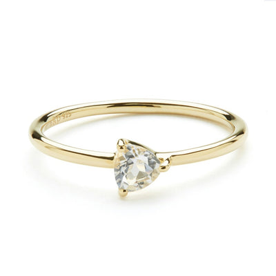 Cor Luna Ring - White Topaz
