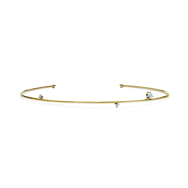 Rebel Soul Choker - Gold