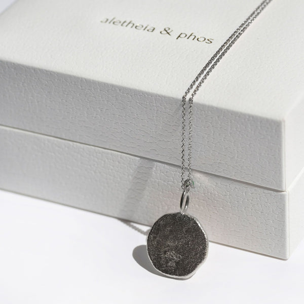 AQUARIUS | The Silver Zodiac Necklace