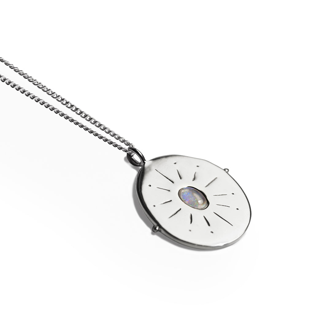 Il Vero Nord | True North Necklace | Opal & Silver
