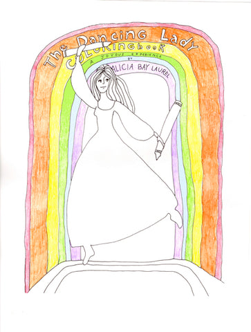 The Dancing Lady Coloring Book