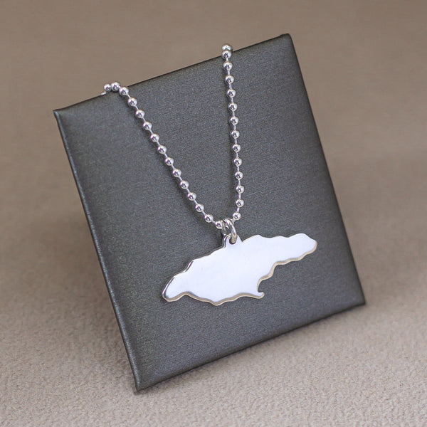 Sterling Silver Jamaica Necklace