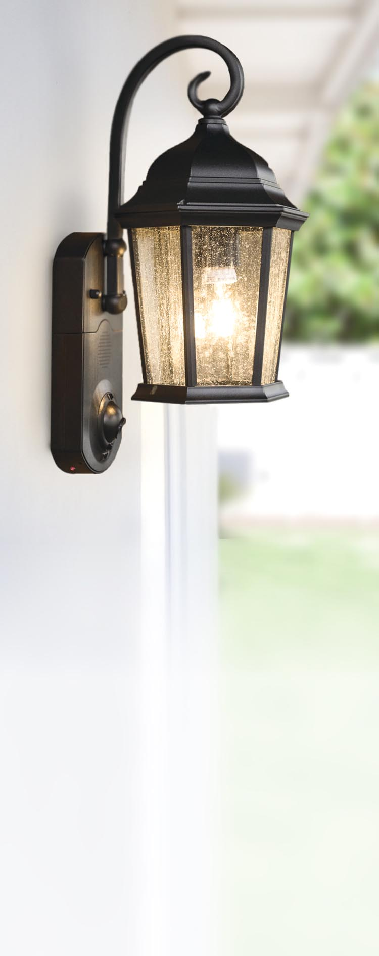 security light solar schlemmer lighting the powered product hammacher angle wide