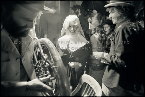 GARTH HUDSON, RICK DANKO & THE NUN - The Basement Tapes Shoot (1975) - John Scheele - Collector's Print