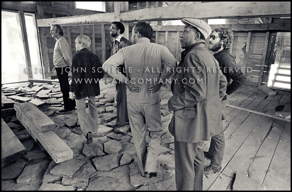 LEVON HELM & MUDDY WATERS - The Barn, Woodstock, NY (1975) - John Scheele - Collector's Print