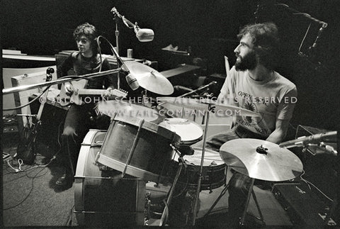 ROBBIE ROBERTSON & RICHARD MANUEL - Academy of Music (1971) - John Scheele - Collector's Print