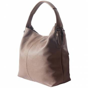 Spontini Soft Leather Bag - Aurora