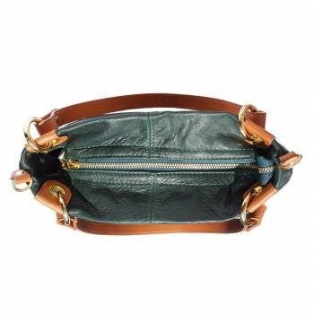 Soft Leather Shoulder Bag - Sasha