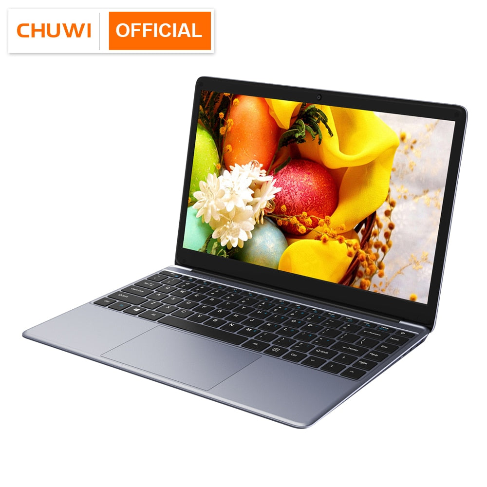 CHUWI HeroBook 2019 14.1 Inch 1920*1080 Window10 OS Intel Quad Core 4GB RAM 64GB ROM Laptop 38Wh Mini HD M.2 Expansion