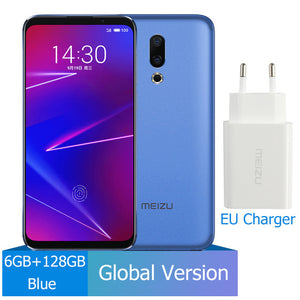Meizu 16 6GB 128GB Global Version Mobile Phone Snapdragon 710  Octa Core 6'' FHD 2160x1080P Dual Rear Camera 3100 mAh Battery
