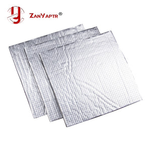 3D Printer parts Heat Insulation Cotton 200/220/300mm Foil Self-adhesive Insulation Cotton 3D Printer Heating Bed Sticker