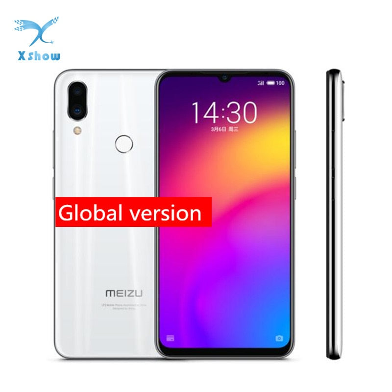 "meizu Note 9 Global version 48.0MP Camera Snapdragon 675 4GB RAM 128GB ROM Fingerprint Octa Core 6.2"" 2244x1080p FHD"