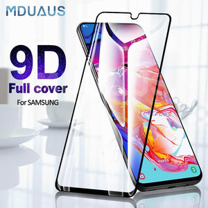 9D Protective Glass on For Samsung Galaxy A10 A20 A30 A40 A50 A60 Screen Protector For Samsung A70 A80 A90 Glass M10 M20 M30 M40