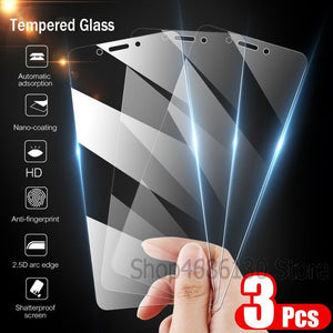 3-1PCS 9H Tempered Glass for Samsung Galaxy A7 A9 2018 J4 J6 Plus Screen Protector For Samsung Galaxy J6 J4 A6 A8 Plus Glass