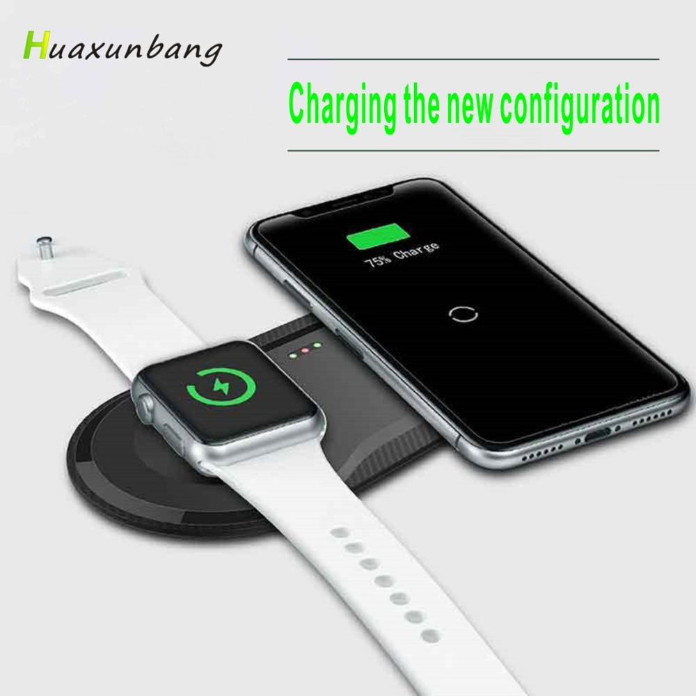 Wireless Charger Fast Wireless Charger qi wireless charger for iPhone 11 XR MAX Apple Watch  Samsung S10 S9 S8Huawei P30 Xiaomi