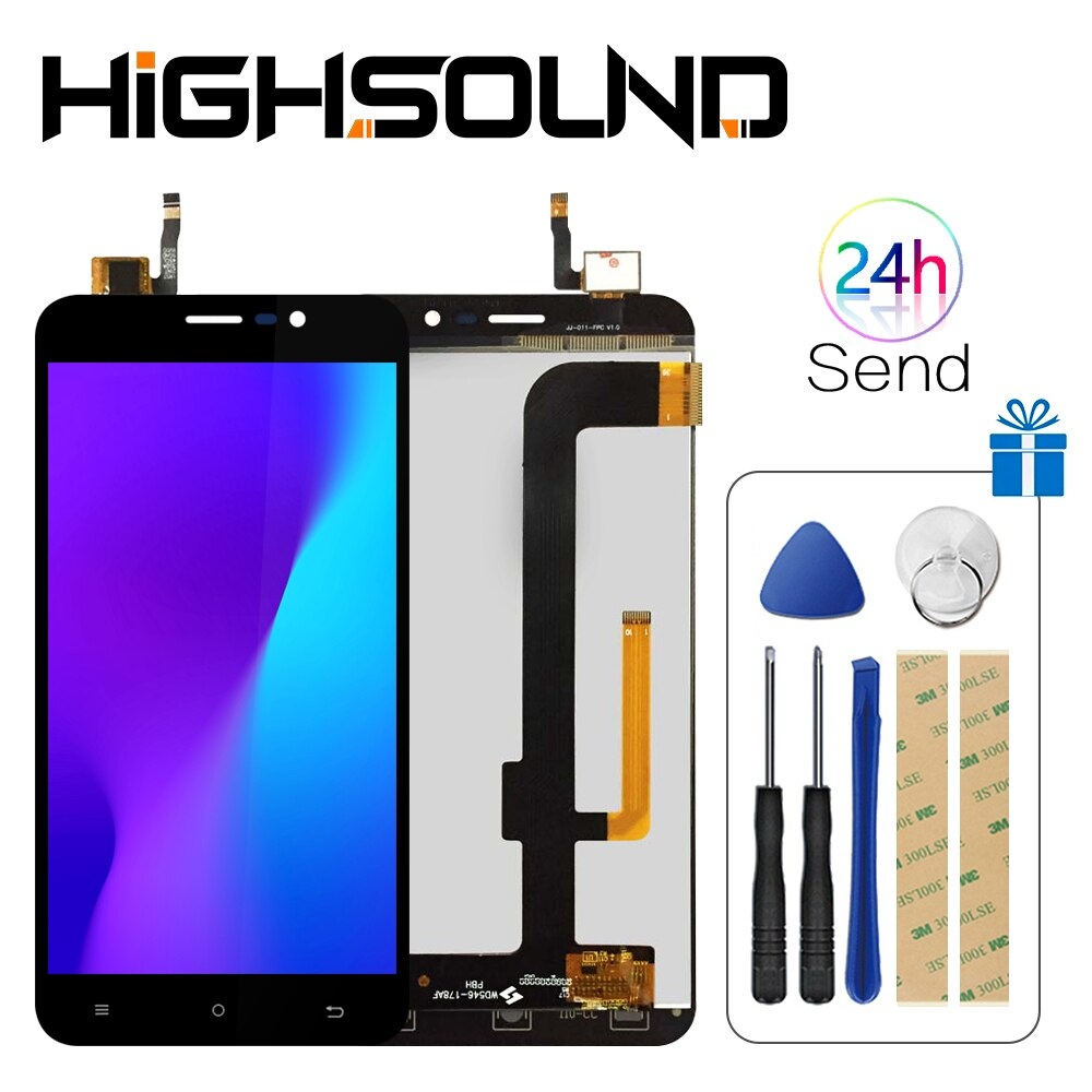 For Note S LCD +Touch Screen for Cubot Note S LCD Mobile Phone Accessory for lcds Cubot Note S Display With Free Tools
