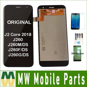 Original For Samsung Galaxy J2 Core 2018 J260 J260M/DS J260F/DS J260G/DS LCD Display Touch Sensor Digitizer Assembly+ kit