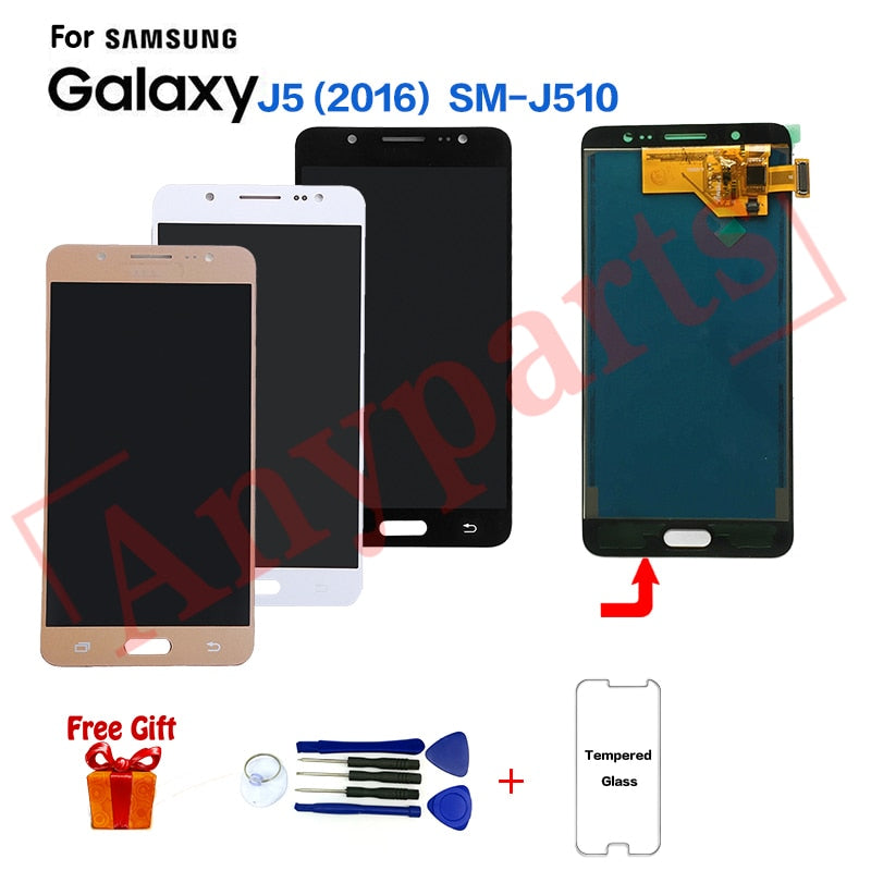 TFT For Samsung J5 2016 SM-J510FN J510F display lcd Screen module for Samsung SM-J510MN J510GN J510L Display Screen replacement