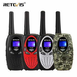 2pcs RETEVIS RT628 Mini Walkie Talkie Kids PMR Radio 4Colors 0.5W 8/22CH PMR PMR446 FRS/GMRS VOX 2 Way Radio Gift Toy Walk Talk