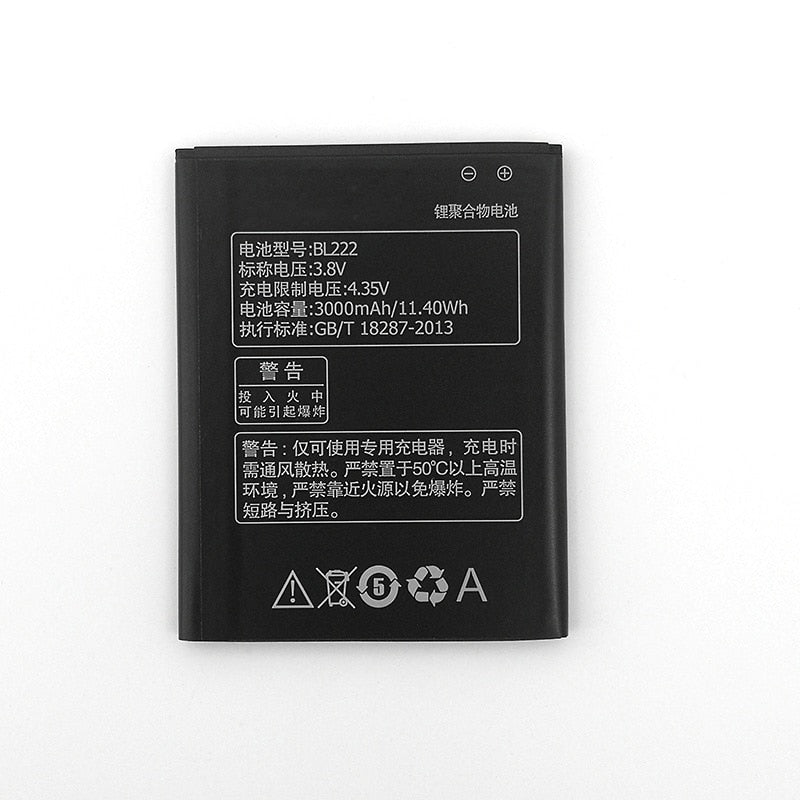 In Stock 100% NEW BL222 3000mAh Battery For Lenovo S660 S668T S 660 668T New produce High quality battery+Tracking number