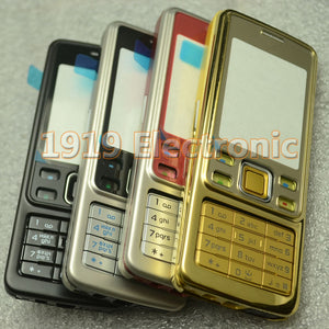 New Full Complete Mobile Phone Housing Cover Case+English Or Russian  Keypad For Nokia 6300 + Tools