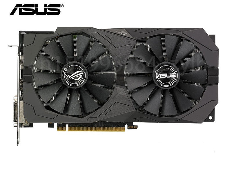 USED,ASUS Video Card RX570 4GB 256Bit GDDR5 Graphics Cards DisplayPort HDMI DVI