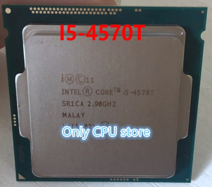 Free shipping Intel I5-4570T CPU I5 4570T 2.9GHz 22nm 35W 4M SR1CA scrattered pieces