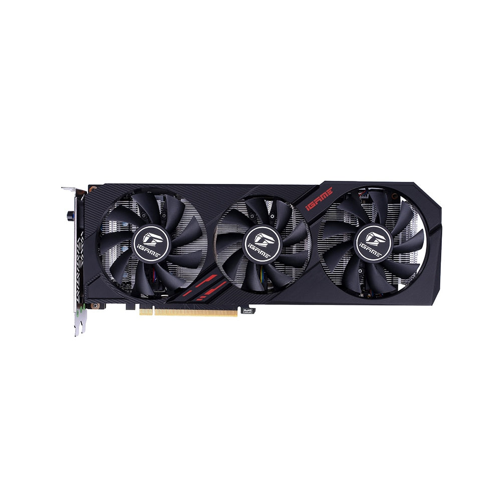 Colorful iGame GeForce GTX 1660 SUPER Ultra 6G Graphic Card 1830MHz GDDR6 6GB RGB Light One-Key Overclock GPU for computer