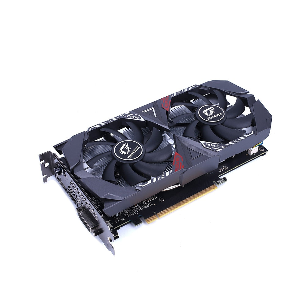 Colorful iGame GeForce GTX 1650 SUPER Ultra OC 4G GDDR6 Graphic Card for Desktop Computer