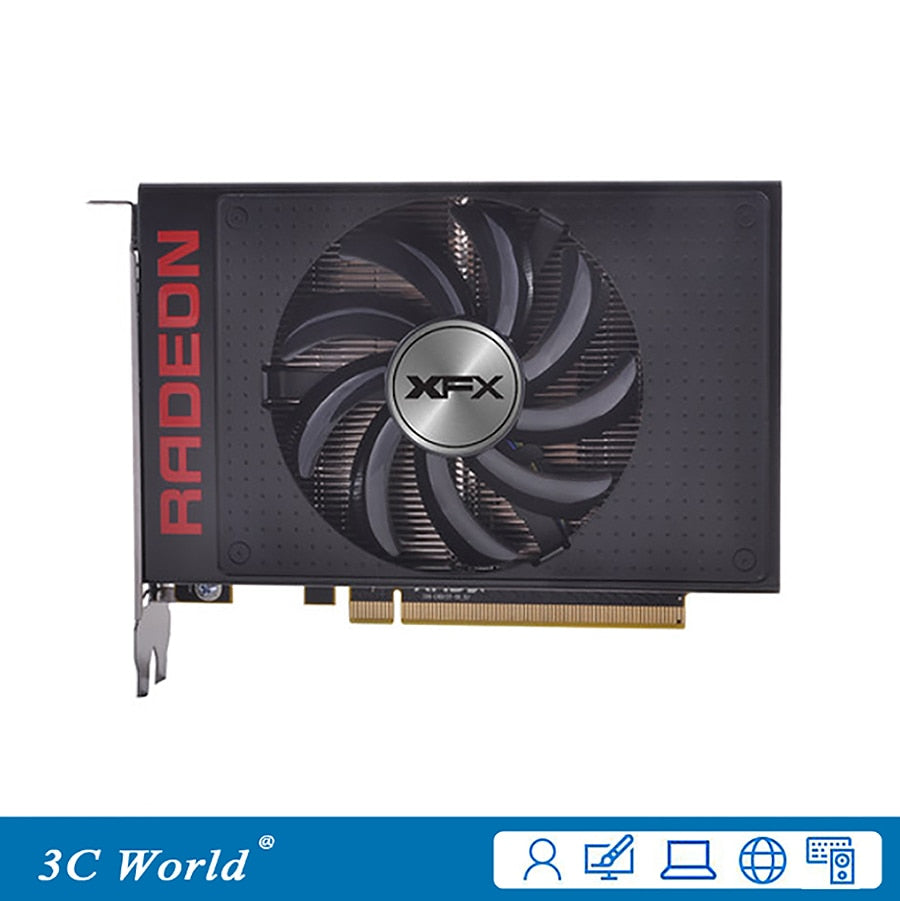 XFX R9 Fury Graphics Cards 4G HBM 4096bit PCI-E 3.0 HDMI DisplayPort 4096SPs Desktop Game graphic cards