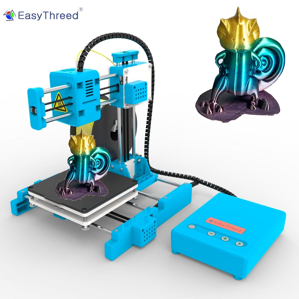 EasyThreed Small 3d Printer Cheap PLA Resin FDM Mini Impressora 3d Brasil Russian Warehouse DIY Kits Gift Imprimante X1