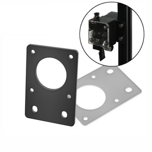 NEMA 17 42-Series Stepper Motor Mounting Plate Fixed Plate Bracket For 3D Printer CNC Parts fit 2020 Profiles