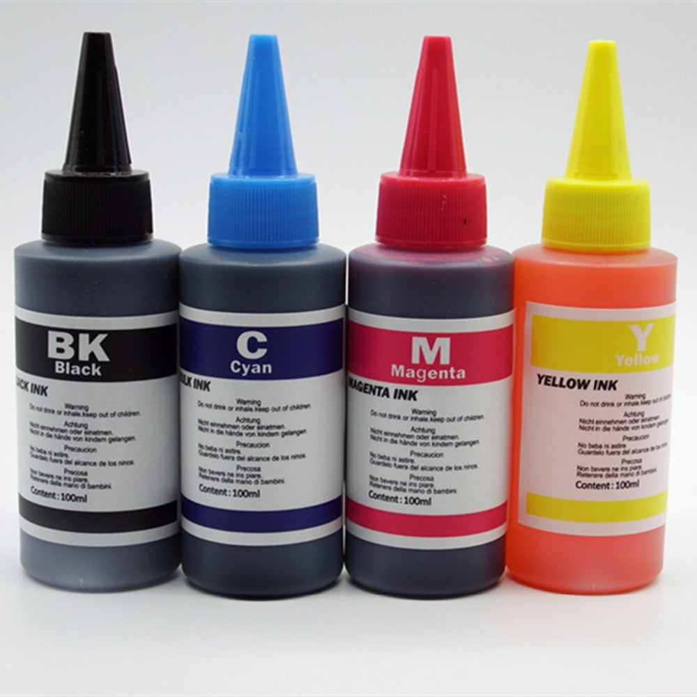 High Quality Universal Photo Dye Refill Ink-Kit-For-Epson-For-Canon-Ciss Refillable Ink Cartridge General Inkjet Printer
