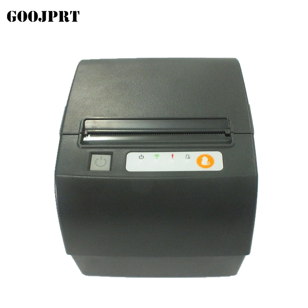 NEW thermal printer 80mm retail shop POS receipt cashier single buzzer alarm network port serial port USB thermal printer