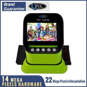 "High Resolution 22 Mega pixels 120 Slide Film Scanner 35mm Negative Photo Scanner Digital 135 126KPK Film Converter 4.3""LCD"