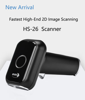 Eyoyo EY-HS26 Fast Speed Wired QR/1D/2D Barcode Scanner USB Bar Code Reader gs1 PDF417 Code39 QR Code Scanner Plug and Play