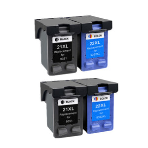 HTL ink cartridge Replacement For hp 21 HP21 for HP 21xl Deskjet F380 F2180 F2280 F4180 F4100 F2100 F2200 F300