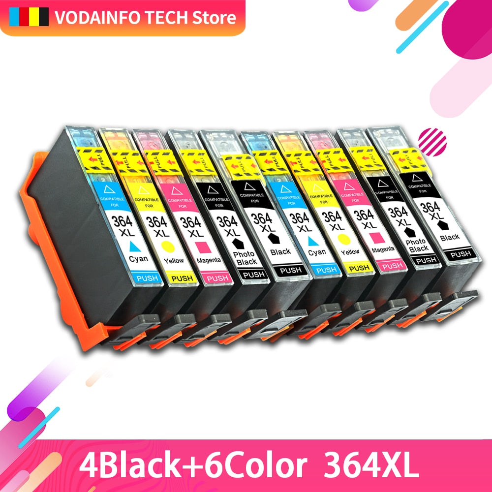 printer ink cartridge 364XL HP 364 XL replace for HP Photosmart 5510 5515 6510 7520 5520 B010a B109a B209a Deskjet 3070A HP364
