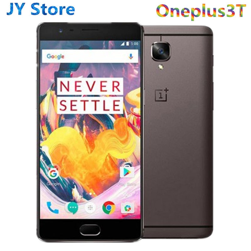 "Brand New One plus 3T 6GB 64GB / 128GB  Version OnePlus 3T A3003 4G Mobile Phone 5.5"" Android Snapdragon 821 NFC Smartphone"
