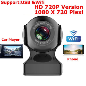 Car Dvr FHD 1080P Wifi Dash Cam DVR Dash Camera FHD Recorder Wifi G-sensor Gps Mini dash Camera Night Registrator Recorder