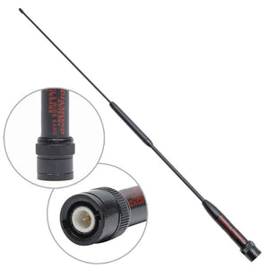 Diamond RH951S BNC Dual Band UHF/VHF 144/430MHz Antenna for Moto ICOM IC-V8 IC-V80 IC-V80E IC-V82 IC-V85 Walkie Talkie Radio