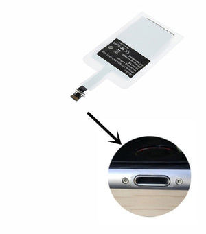 QI Wireless Charger Receiver Type C Adapter Charging On For Iphone 5s SE 6 s 7 Xiaomi Redmi Note 7 5 Samsung For Huawei P20 Lite