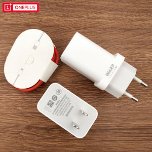Original Oneplus 7 pro Warp charger USB 1M Type-C Cable 5V 6A 30W Dash Fast Wall Charging For One plus 1 + 7T Pro 6 6t 5 5t 3 3t