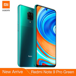 New Global Version Redmi Note 9 Pro 64GB Smartphone NFC Smartphone 6GB 64MP Quad Camera Snapdragon 720G GPay 5020mAh Battery