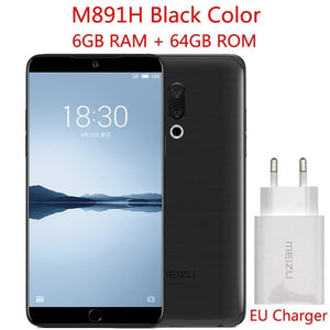"Original Global Version Meizu 15 Plus  6GB 64GB Exynos 8895 Octa Core 5.95"" 2560x1440P Fingerprint Fast charger Smart Phone"
