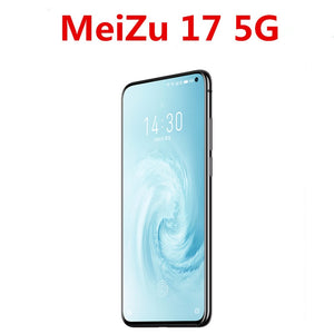 DHL Fast Delivery Meizu 17 5G Smart Phone Android 10.0 30W Super Mcharge Snapdragon 865 Octa Core 64.0MP 90HZ Screen Fingerprint