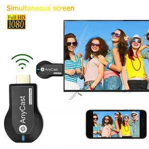 Anycast M2 Plus TV Stick 2.4G+5G 4K Wireless DLNA AirPlay WiFi Display Dongle Receiver For IOS Android  PC HD Video